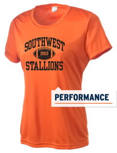 Southwest High School Stallions Women's Competitor Performance T-Shirt