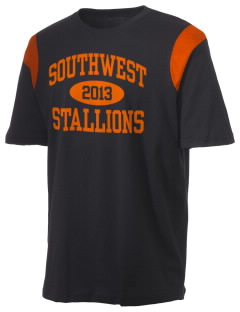 Southwest High School Stallions Holloway Men's Rush T-Shirt