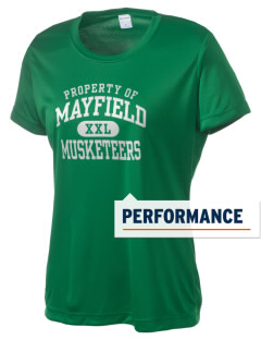 Mayfield Elementary School Musketeers Women's Competitor Performance T-Shirt