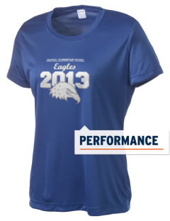Grayhill Elementary School Eagles Women's Competitor Performance T-Shirt