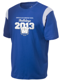 Denver Place Elementary School Bulldogs Holloway Men's Rush T-Shirt