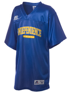 Independence Middle School Blue Devils Russell Kid's Replica Football Jersey