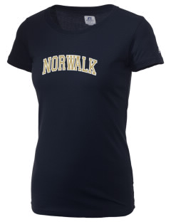 Norwalk High School Truckers  Russell Women's Campus T-Shirt