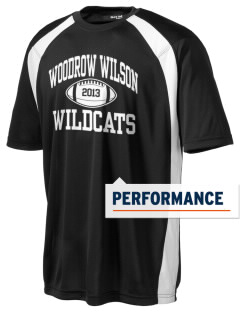 Woodrow Wilson Elementary School Wildcats Men's Dry Zone Colorblock T-Shirt
