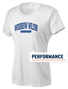 Woodrow Wilson Elementary School Wildcats Women's Competitor Performance T-Shirt