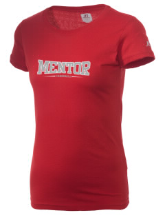 Mentor High School Cardinals  Russell Women's Campus T-Shirt