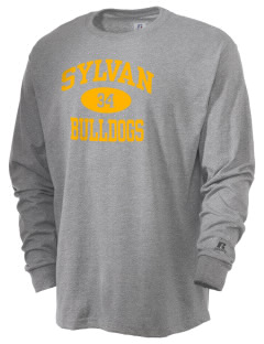 Sylvan Elementary School Bulldogs  Russell Men's Long Sleeve T-Shirt