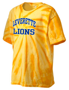 Leverette Junior High School Lions Kid's Tie-Dye T-Shirt