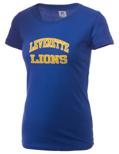 Leverette Junior High School Lions  Russell Women's Campus T-Shirt