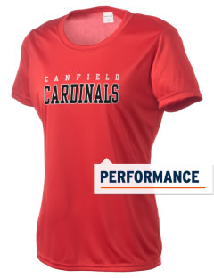 Canfield High School Cardinals Women's Competitor Performance T-Shirt