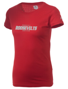 Roosevelt Junior High School Roosevelts  Russell Women's Campus T-Shirt