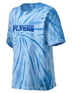 South Main Street Elementary School Flyers Kid's Tie-Dye T-Shirt