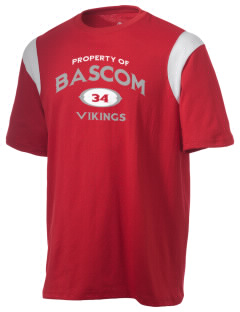 Bascom Elementary School Vikings Holloway Men's Rush T-Shirt