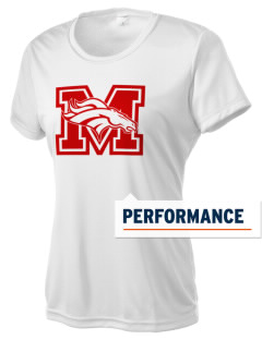 Mustang Middle School Broncos Women's Competitor Performance T-Shirt