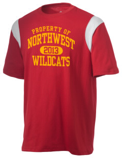 Northwest 6th Grade Center Wildcats Holloway Men's Rush T-Shirt