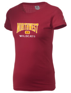 Northwest 6th Grade Center Wildcats  Russell Women's Campus T-Shirt
