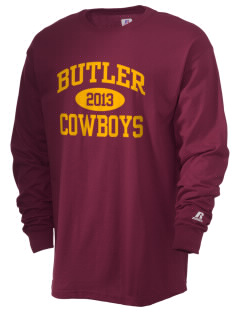 Butler Public School Cowboys  Russell Men's Long Sleeve T-Shirt