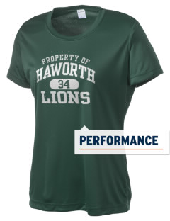 Haworth High School Lions Women's Competitor Performance T-Shirt