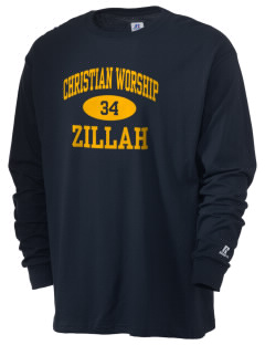 Christian Worship Center Zillah  Russell Men's Long Sleeve T-Shirt