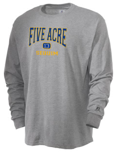 Five Acre School Sequim  Russell Men's Long Sleeve T-Shirt