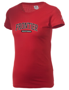 Frontier School Mustangs  Russell Women's Campus T-Shirt