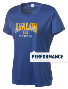 Avalon Elementary School Perris Women's Competitor Performance T-Shirt