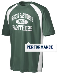 Green Pastures Elementary School Panthers Men's Dry Zone Colorblock T-Shirt