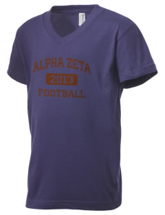 Alpha Zeta Kid's V-Neck Jersey T-Shirt