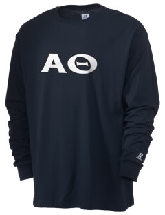 Alpha Theta  Russell Men's Long Sleeve T-Shirt