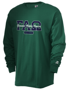 Gamma Alpha Omega  Russell Men's Long Sleeve T-Shirt