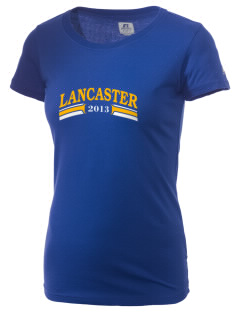 Blessed Junipero Serra Parish (Quartz Hi Lancaster  Russell Women's Campus T-Shirt