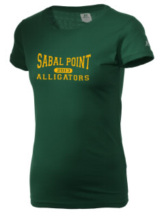 Sabal Point Elementary School Alligators  Russell Women's Campus T-Shirt