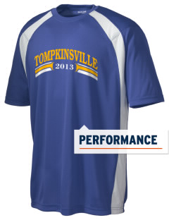 Christ The King Parish Tompkinsville Men's Dry Zone Colorblock T-Shirt