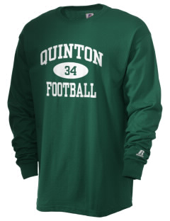 Quinton High School Savages  Russell Men's Long Sleeve T-Shirt