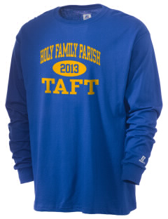 Holy Family Parish Taft  Russell Men's Long Sleeve T-Shirt