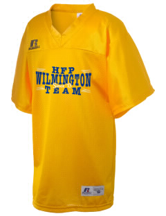 Holy Family Parish Wilmington Russell Kid's Replica Football Jersey