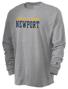 Holy Spirit Parish Newport  Russell Men's Long Sleeve T-Shirt