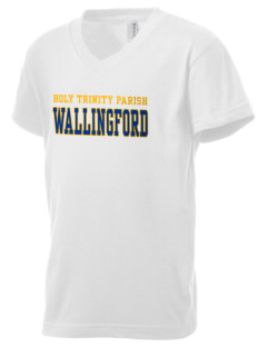 Holy Trinity Parish Wallingford Kid's V-Neck Jersey T-Shirt