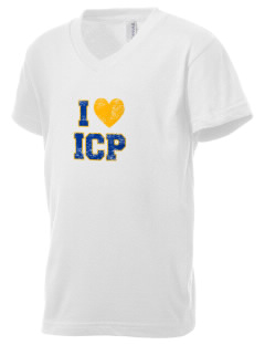 Immaculate Conception Parish North Little Rock Kid's V-Neck Jersey T-Shirt