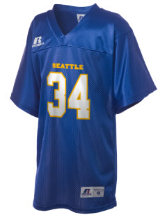 Our Lady of Fatima Parish Seattle Russell Kid's Replica Football Jersey