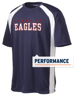 Liberty Elementary School Eagles Men's Dry Zone Colorblock T-Shirt