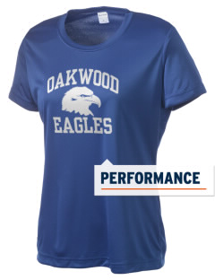 Oakwood Elementary School Eagles Women's Competitor Performance T-Shirt