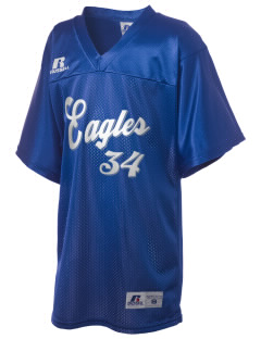 Oakwood Elementary School Eagles Russell Kid's Replica Football Jersey