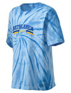 Our Lady of Pompeii Parish (1902) (Itali Bethlehem Kid's Tie-Dye T-Shirt