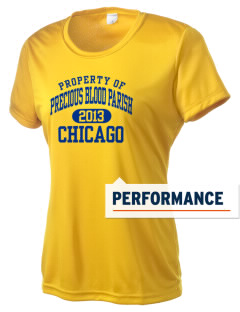 Precious Blood Parish Chicago Women's Competitor Performance T-Shirt