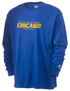 Precious Blood Parish Chicago  Russell Men's Long Sleeve T-Shirt