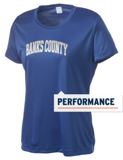 Banks County Middle School Leopards Women's Competitor Performance T-Shirt