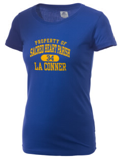 Sacred Heart Parish La Conner  Russell Women's Campus T-Shirt