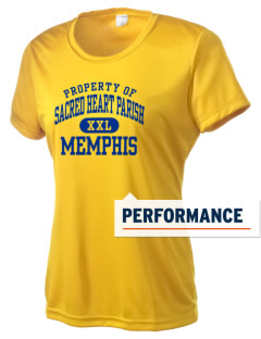 Sacred Heart Parish Memphis Women's Competitor Performance T-Shirt