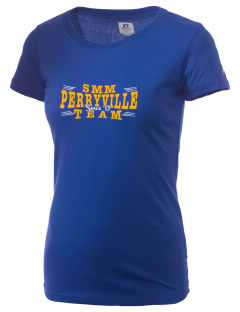 Saint Mary Mission - Perryville Perryville  Russell Women's Campus T-Shirt